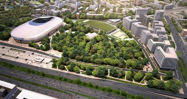 ВТБ Арена парк распределительный щит